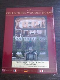 COLLECTOR'S WOODEN JIGSAW - QUEEN MARY'S DOLL'S HOUSE, WINDSOR CASTLE