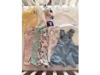 NEXT bundle baby girls summer clothes 3-6 months