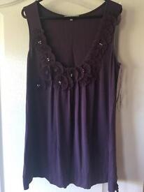 Size 12 purple top