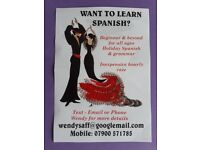Private spanish lessons in West Hull. Lady tutor teaching from the beginning and upwards.
