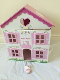 Hello Kitty wooden house++ with additional furniture accessories++other toys available++£10