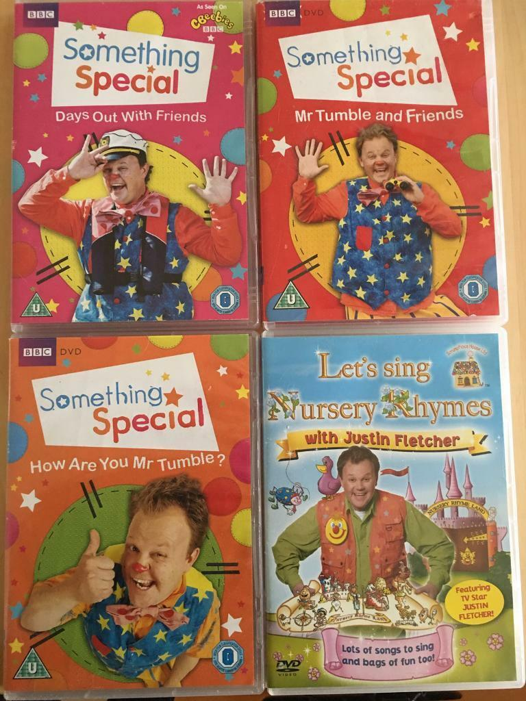 Mr Tumble/Justin Dvd's