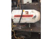 Andrews G125 gas space heater 30 - 125BTU