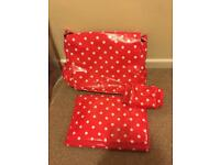 Cath Kidson baby changing bag brand new