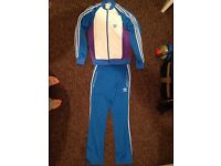 Adidas SPO superstar track top and pant, size 50