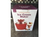 Andrew James Ice cream maker