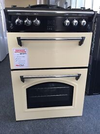 LEISURE CREAM GAS COOKER NEW/GRADED 12 MONTHS GTEE RRP £499 ONLY £349