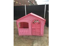 Pink Wendy house