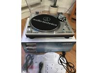 Audio-technical AT-LP120 direct drive turntable - silver