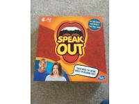 Speak out - family game. Great present.