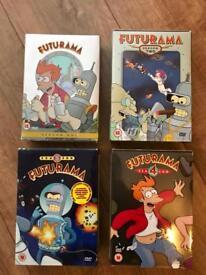 Futurama DVD Season 1 2 3 & 4