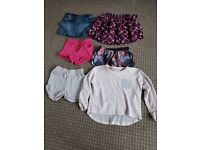 bundle of clothes 10/11 years