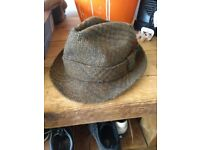 Dunn and co tweed hat