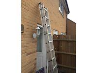 Light weight Ali ladders Hardley used. No longer needed.
