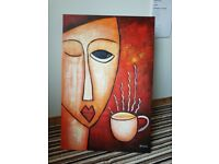 """paintings for sale """"coffee time"""""""