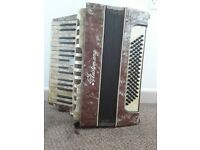 Piano accordion 80 bass ludwig meisterkang