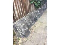 300-400 Reclaimed roof slates