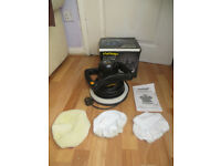 car polisher, challenge twin handled car polisher, only used once, good condition