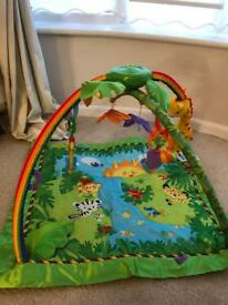 Fisher price rainforest gym play Mat