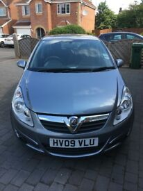 VAUXHALL CORSA CLUB 09, 1.4L, PETROL, 63000 MILEAGE, SUPERB CONDITION.