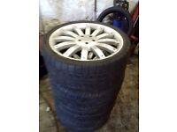 22 inch range rover alloy wheels