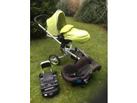 Silver Cross Surf Travel System with Isofix Base