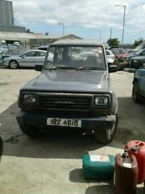 1992 daihatsu fourtrak 2.8 diesel for breaking only all parts available