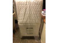 Folding travel cot mattress