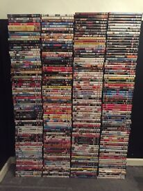 290 DVDs Job Lot, great selection, top titles, great for car boot sales