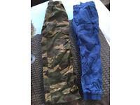 Age 7 cargo pants x 2 pairs