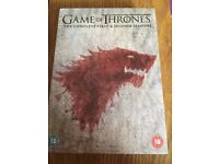 Game of Thrones - Seasons 1 & 2 Boxset (MINT CONDITION)