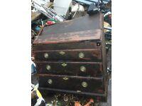 Oak Rare Vintage bureao