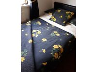 Vintage bedding collection double x 2 sets including large throw, large