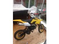 Pitbike 125cc big bike not stomp demon x 110cc 140ccc 160cc