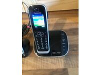 Panasonic KX-TGJ324EB Quad Handset Phone with Nuisance Call Blocker and LCD Colour Display - Black