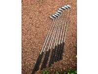Golf clubs set with bag