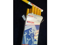 Pack 10 EDDING 750 yellow paint markers lackmarker 2-4mm
