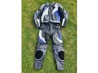 Buffalo Motorcycle Leather Jacket & Trousers Men's