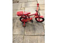 CHILDREN BICYCLE SUITABLE FOR 4-5 YEAR OLDS FOR SALE