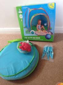 ELC uv Pop Up Tent.