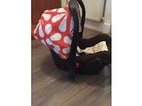 Cosatto sunny giggle infant carrier car seat