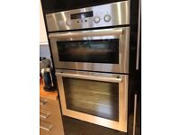 Double Oven - Stainless steel
