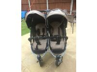 Hauck Double pushchair barely used £75