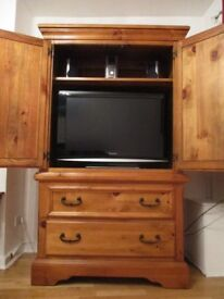 TV cabinet/storage cabinet/armoire with two shelves and two drawers. Offers considered!