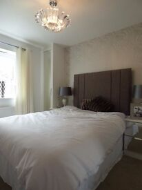 Double Bed and Headboard new