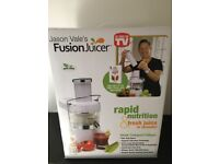 Jason Vale Fusion Juicer (white) - as Seen on TV. Model MT1020-2 with recipe book