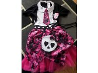 Girls Halloween Outfit Size 5-7 Yrs