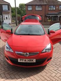 Vauxhall Astra GTC 2.0 SRI CDTI Turbo Red