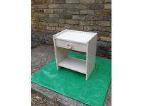 BEDSIDE CABINET / TABLE with Draw FREE LOCAL DELIVERY