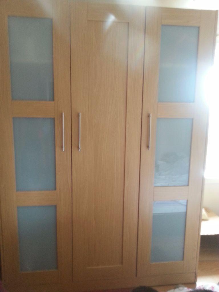 Schreiber Bedroom Furniture Schreiber Wardrobe Chest Of Drawers And Bedside Cabinet Oak In